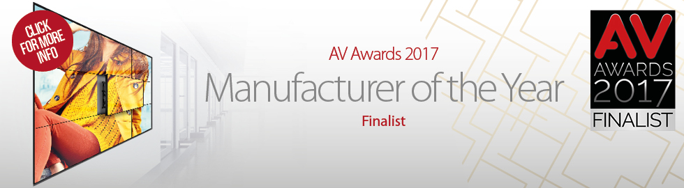 B-Tech shortlisted at AV Awards 2017