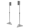 BT10 Hi-Logic Plus™ Speaker Stands - Silver
