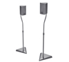 BT11 Stealth™ Speaker Stands - Silver