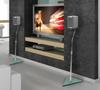 BT111 Stealth Crystal™ Home Cinema Speaker Stands - Lifestyle Image