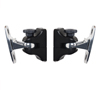 BT332 Home Cinema Speaker Wall Mounts Black - Pair of Mounts