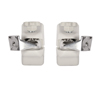 BT332 Home Cinema Speaker Wall Mounts White - Pair of Mounts