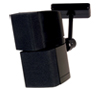 BT34 Home Cinema Speaker Ceiling Mount (Single) - with Speaker - Black