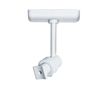 BT34 Home Cinema Speaker Ceiling Mount (Single) - Single Point - White