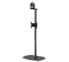 BT5702-02 - Freestanding Floor Stand with Camera Shelf  (Large Base)