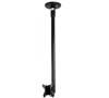 BT5811-075 - Medium Drop Flat Screen Ceiling Mount with Tilt - Black