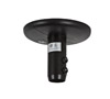 BT5820 - Fixed Ceiling Mount for 35mm Poles - Black