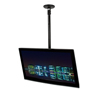 BT5833-075 - Medium Drop Flat Screen Ceiling Mount with Tilt - Black