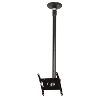 BT5833-075 - Medium Drop Flat Screen Mount with Tilt - Black