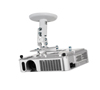 BT5890-010 - Short Drop Universal Projector Mount with Projector - White