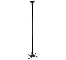BT5890-150 - Long Drop Universal Projector Mount - Black