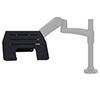 BT7372 - Single Arm Flat Screen Desk Mount - Example Installation
