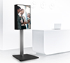 BT7003 - Freestanding Digital Signage Mount with Screen Enclosure