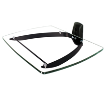 BT7088 - Stylish Glass AV Component Glass Shelf for Audio Video Equipment