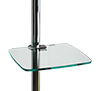 BT7171 - Glass Shelf Mount - Clear Glass