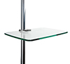 BT7173 - Medium Glass Shelf - Pole Mounted