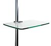 BT7173 - Medium Glass Shelf - Pole Mounted