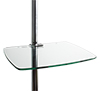 BT7174 - Large Glass Shelf - Clear Glass