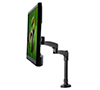BT7373 - Double Arm Flat Screen Desk Mount - With Screen