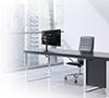 BT7373 - Double Arm Flat Screen Desk Mount