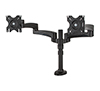 BT7374 - Twin Flat Screen Desk Mount with Dual Articulated Arms