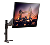 BT7382 - Full Motion Single Arm Flat Screen Desk Mount with Screen