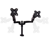 Full Motion Twin Screen with Dual Articulated Arms Flat Screen Desk Mount