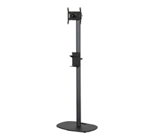 BT7401 - Flat Screen Stand with Bottled Sanitiser Cradle