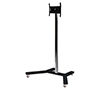 BT7504 Medium Flat Screen Display Trolley - Black