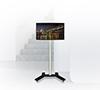 BT7504 Medium Flat Screen Display Trolley - Black