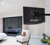 BT7512 - Single Arm Flat Screen Wall Mount with Tilt and Swivel - Lifestyle Image
