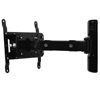 BT7514 Single Arm with Tilt and Swivel Flat Screen Wall Mount - Side View