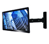 BT7514 Single Arm with Tilt and Swivel Flat Screen Wall Mount - With Screen