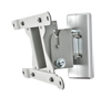 BT7524 - Flat Screen Wall Mount with Tilt and Swivel - Silver