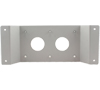 BT7528 - 340 x 120mm Adaptor Plate - for Panasonic® Flat Screens - Front View