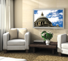 BT7532 - Low Profile Flat Screen Wall Mount - Lifestyle Image