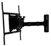BT7534 Single Arm with Tilt and Swivel Flat Screen Wall Mount - Side View