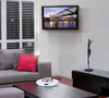 BT7534 Single Arm with Tilt and Swivel Flat Screen Wall Mount - Lifestyle Image