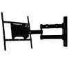 BT7535 Double Arm with Tilt and Swivel Flat Screen Wall Mount - Side View