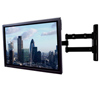 BT7535 Double Arm with Tilt and Swivel Flat Screen Wall Mount - with Screen