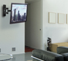 BT7535 Double Arm with Tilt and Swivel Flat Screen Wall Mount - Lifestyle Image