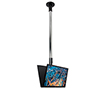 BT7554 - Back-to-Back Flat Screen Ceiling / Desk Mount - Ceiling Mounted with Screen