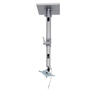 BT7582 - Adjustable Drop Flat Screen Ceiling Mount - Silver