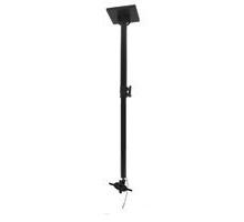 BT7583 - Long Adjustable Drop Flat Screen Ceiling Mount - Black