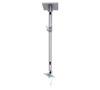 BT7583 - Long Adjustable Drop Flat Screen Ceiling Mount - Silver