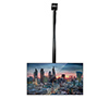 BT7808 - Pole mount screens from flat or angled ceilings