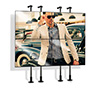 BT7831 - Ideal for creating multi-screen pole mounted installations - such as video walls