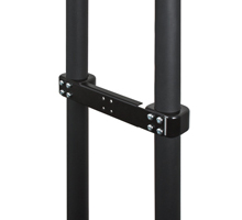 Twin Pole Adaptor for Trolleys & Stands