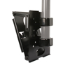 BT8027 Large Flat Screen 50mm Pole Mount with Tilt - Side View