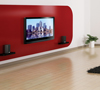 BT8210-PRO - Ultra-Slim Universal Flat Screen Wall Mount - Lifestyle Image